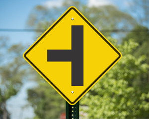 side-road-sign